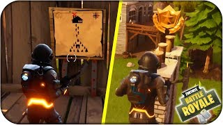LOCATION MAP OF SECRET TREASURE CHARCA CHORREANT! FORTNITE: Battle Royale - Rubenillo17