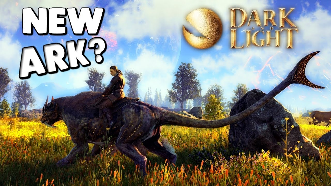 Dark And Light WILL THIS GAME KILL ARK TAME MYTHICAL CREATURES Amp MORE DNL Gameplay YouTube