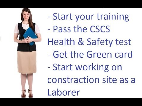 Training For Successful Ing The New Cscs Health And Safety Test