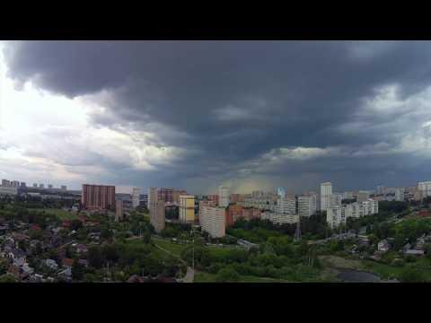 Грозовая облачность 23 мая 2019 Одинцово