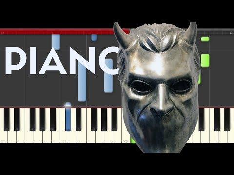 Ghost Rats Piano Midi tutorial Sheet app Cover Karaoke