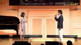 """ミュージカル『サンセット大通り』の製作発表より平方元基&夢咲ねねが歌う""""Too much in love to care""""の映像が届きました! http://hpot.jp/stage/sunset."""