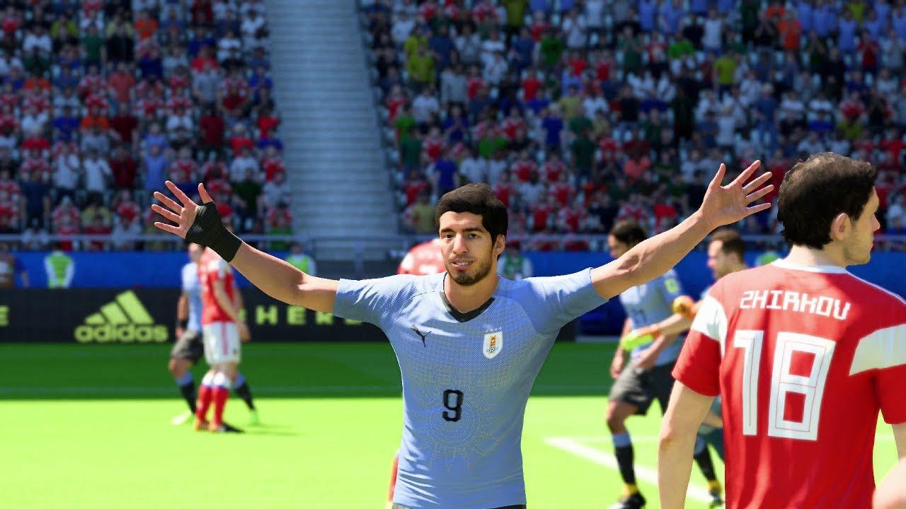 Match Russia - Uruguay 2018 6