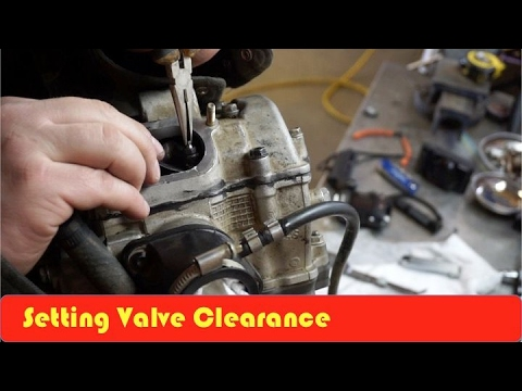 ATV How To Set Valve Clearance