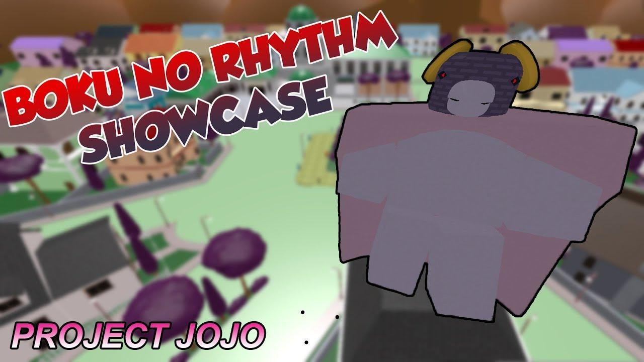 Boku No Rhythm Showcase Project Jojo Youtube