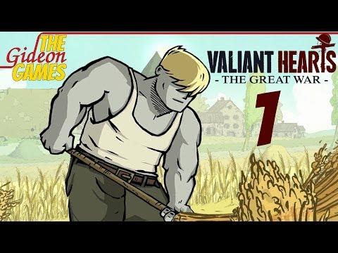 Прохождение Valiant Hearts: The Great War [HD|PC] - Часть 1 (Война не щадит никого)
