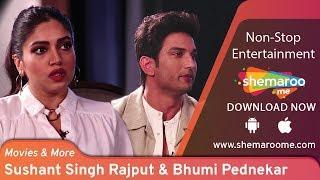 Sushant Singh Rajput & Bhumi Pednekar take acting tips from ?? Siddharth Kannan   Movies & More