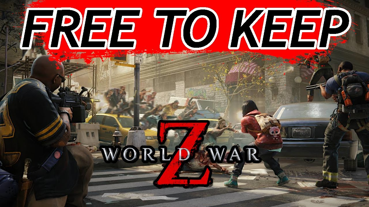 World War Z is FREE for a LIMITED time, here's how to get it FOREVER… (2020)