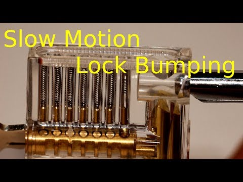 Lock Bumping in Slow Motion