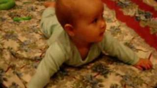 How babies learn to turn over