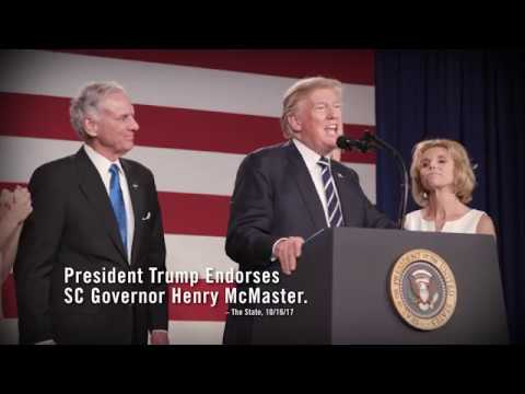 President Trump Endorses Henry McMaster For Governor