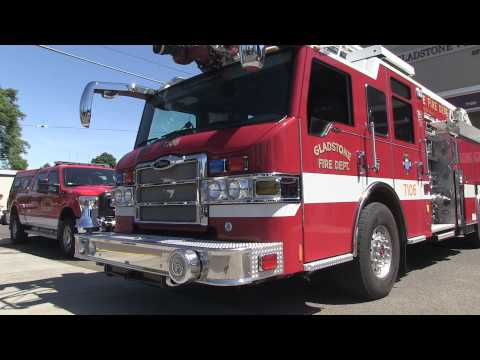 Lt. Kirk Stempel Gives Us A Tour Of The Gladstone Volunteer Fire Department