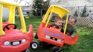Repeat youtube video Toddler Car Jacking