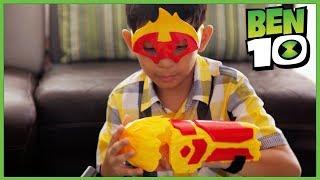 Ben 10 Un tinju: Mainan Heatblast dan Diamondhead