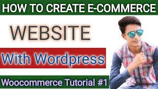 Wie das Erstellen von E-Commerce-Website in Wordpress in Hindi | Erstellen von Online-Speichern Wie Amazon, Flipkart