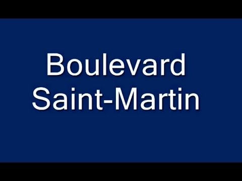 Boulevard Saint Martin Paris Arrondissement  3e, 10e