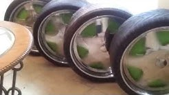 26s Dub Trump floaters for sale