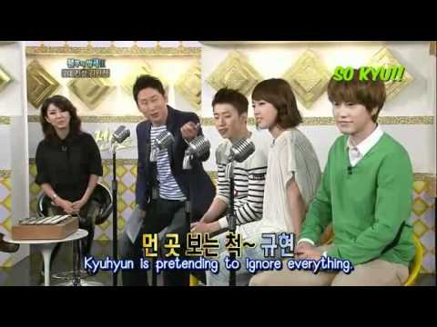 Eng-  KyuHyun Talk about Scary Fan Immortal Song2 Cut [Hae-Ann]