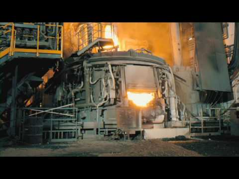 Abul Khair Steel Melting- Electric Arc Furnace production in Bangla