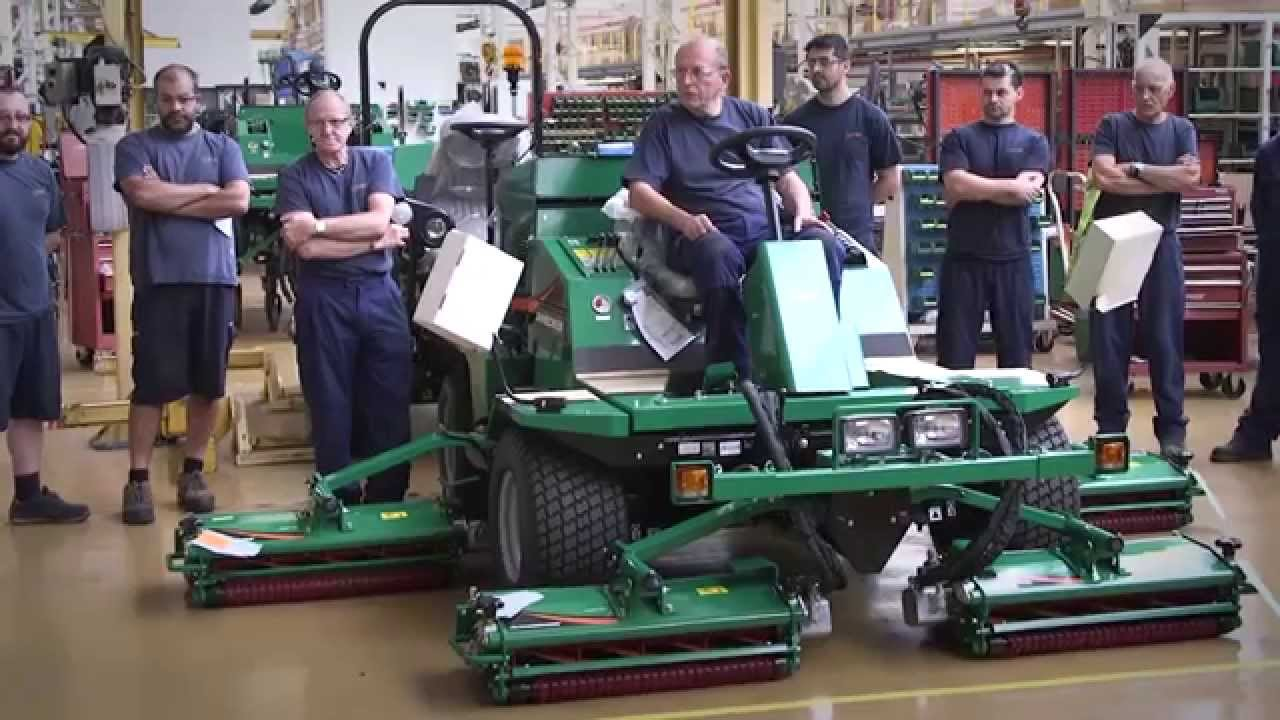 Ransomes Jacobsen - Renowned for Turf Maintenance Solutions