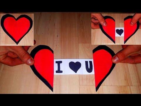DIY: How to Make a Paper Heart With a Message