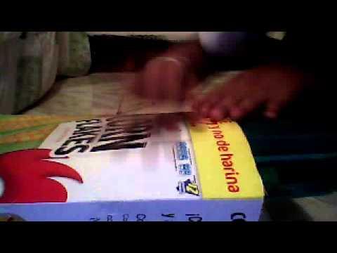 Como hacer una bolsa con caja de corn flakes youtube - Como forrar una caja con tela ...