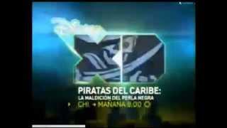 """Promo """"Piratas del Caribe: La Maldición del Perla Negra"""" en Disney XD"""