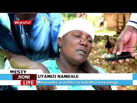 Mwanamke wa makamo avamiwa na majazi na kukatwa kijijini Mabale