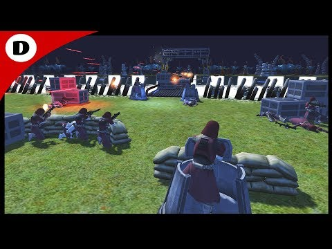 DEADLY BRIDGE ASSAULT ~ Clone Marine Defense - Men of War Star Wars mod