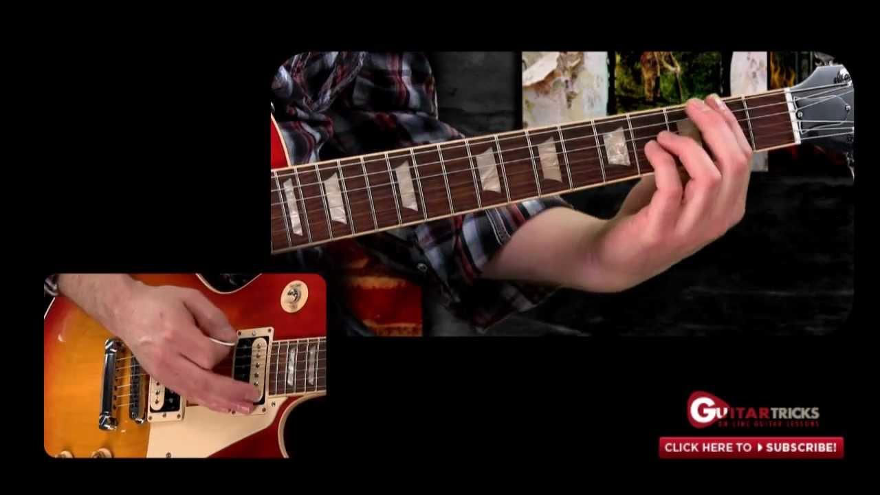 Metal Guitar Lesson Metal Chords Guitar Tricks Youtube