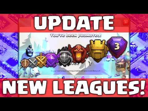 Clash of Clans UPDATE! ♦ NEW Leagues! ♦ Titan League ♦ LEGEND League ♦ New Tournament!