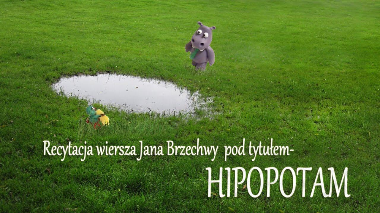 Recytacja Hipopotam Jan Brzechwa Recytuje Anastazja Faith 2