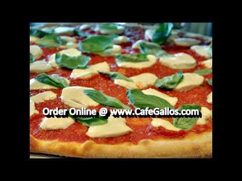 Cafe Gallo Pizza & Restaurant Edison N.J. | Order Pizza Online | Pizza Menu | Pizza Delivery