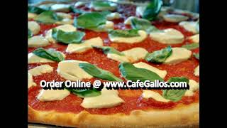 Cafe gallo pizzeria italian restaurant 1153 inman ave edison n.j. 908 756-4745. dine in, take out or delivery. on & off premise catering for your every occas...