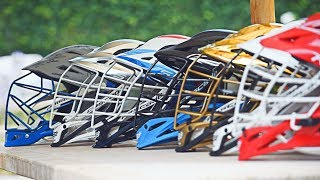 The Ultimate Lacrosse Helmet Collection