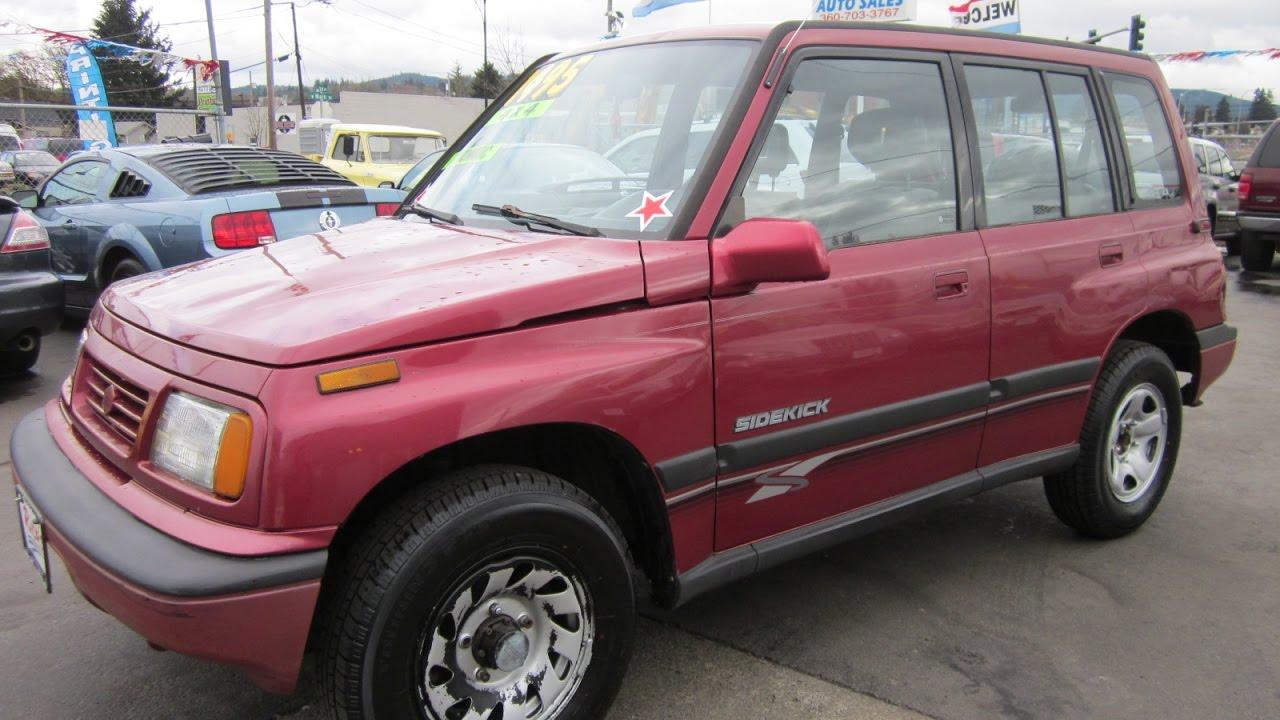 1995 Suzuki Sidekick Jx 4x4 Sold