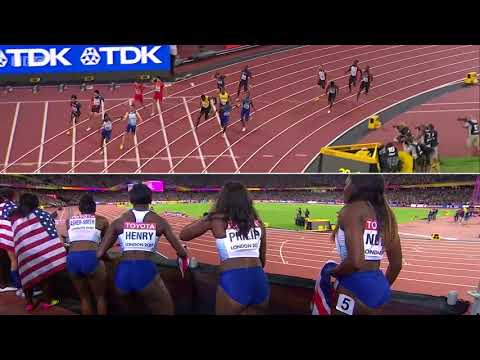 Mens 4x100m Relay Gold   London 2017   Alternative View