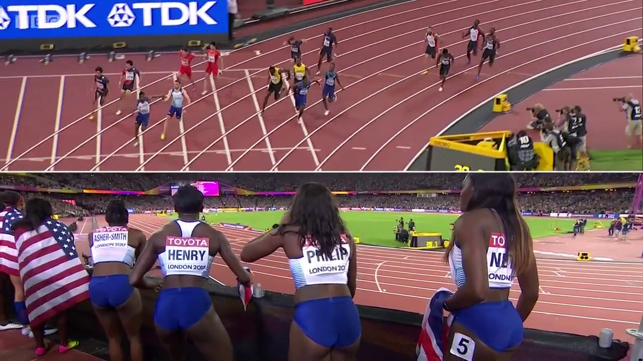 Download Mens 4x100m Relay Gold   London 2017   Alternative View