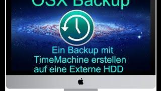 [OSX-Backup Teil 1] Time Machine Backup auf einer Externen Festplatte erstellen