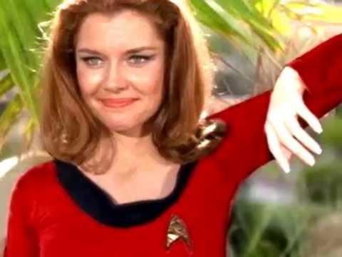 EMILY BANKS, My AllTime Fav TOS Babe Yeoman Tonia Barrows, Star Trek,  Shore Leave, Deforest Kelley