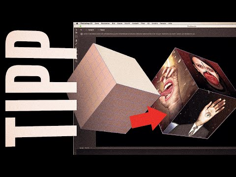 Würfelseiten mit Bildern belegen - Photoshop Tutorial  (1080p) thumbnail