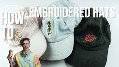 Diy Embroidered Hats