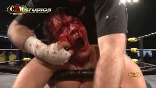 CZW: Jon Moxley vs. Nick Gage (CZWstudios.com) 3/13/10 [Dean Ambrose, The Shield, Smackdown]