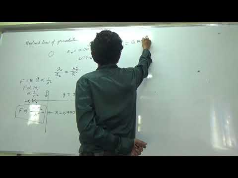 IIT JEE Physics 12 Gravitation 01 || by Abhishek Kumar Physi