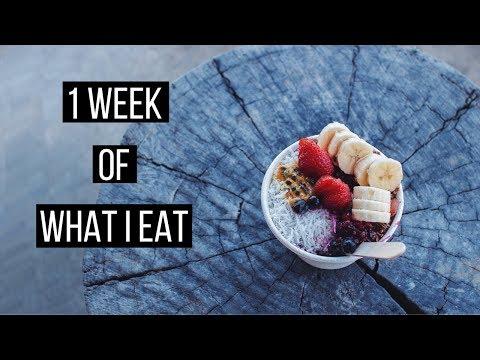 1 Week of Vegan Food