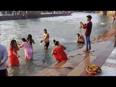 Ganga Snan Har  Ki Pauri , Open Bath , ...