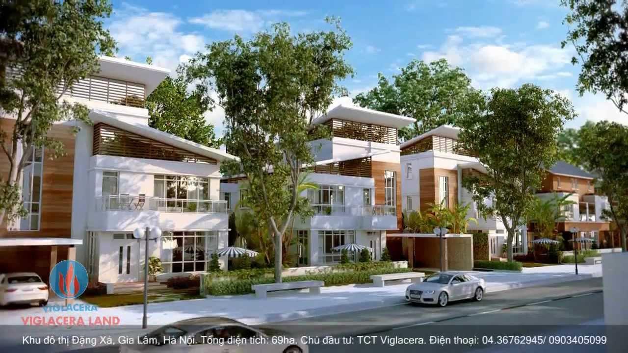 TVC giới thiệu Khu đô thị Đặng Xá Viglacera