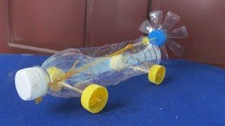як зробити машину з пляшки своїми руками