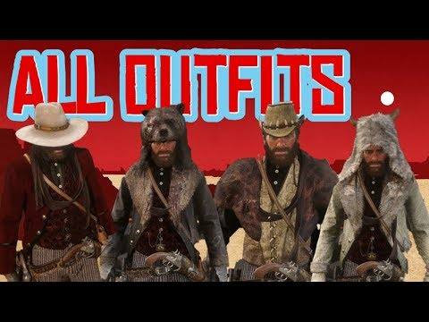 Red Dead 2 | Unlock All Outfits Cheat