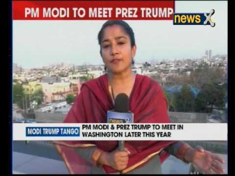 US President Donald Trump looks forward to host PM Narendra Modi in Washington